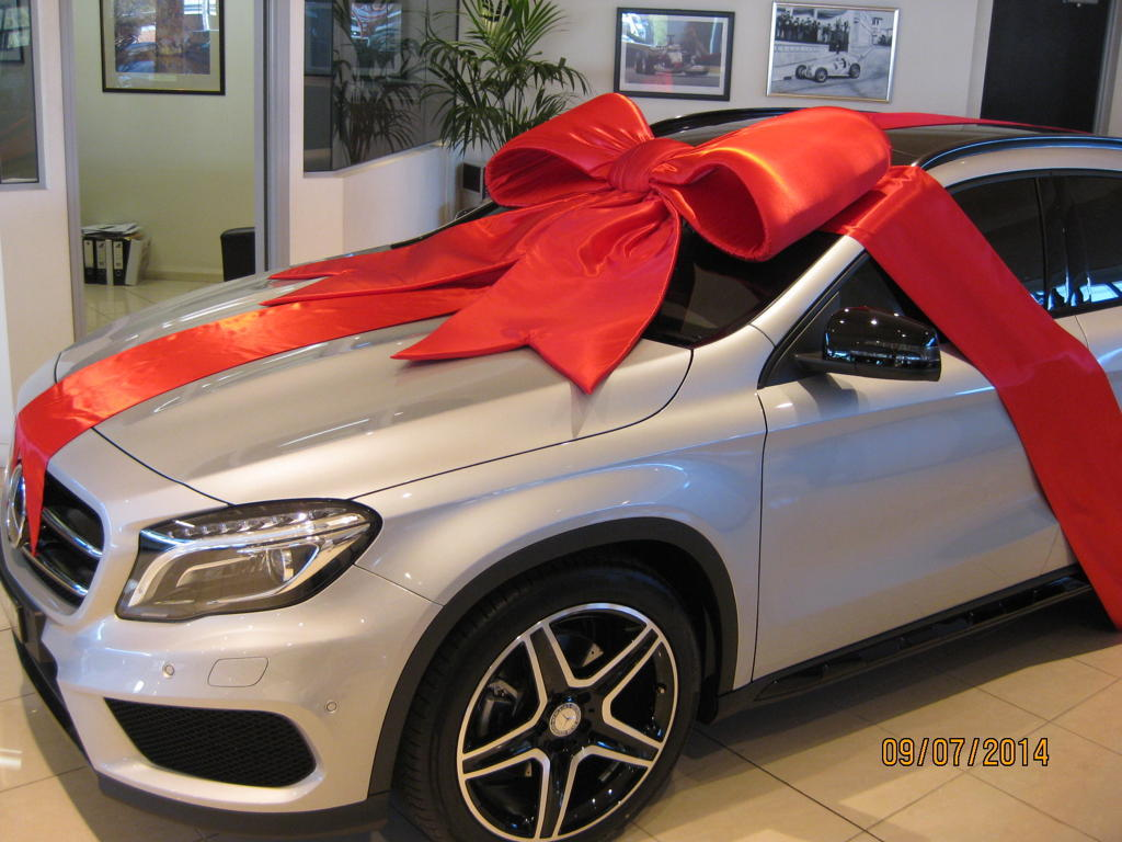 Giant Bow For Car